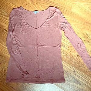 Blush Pink Longsleeve Shirt